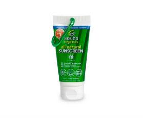 soleo organics(ソレオオーガニックス) オールナチュラルサンスクリーンの画像