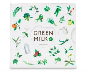 ヒューテックジャパン グリーンミルクの画像