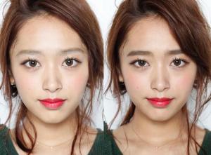 眉毛印象比較の画像