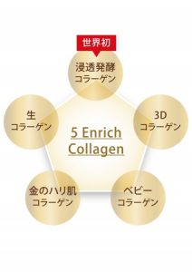 5コラーゲンの画像