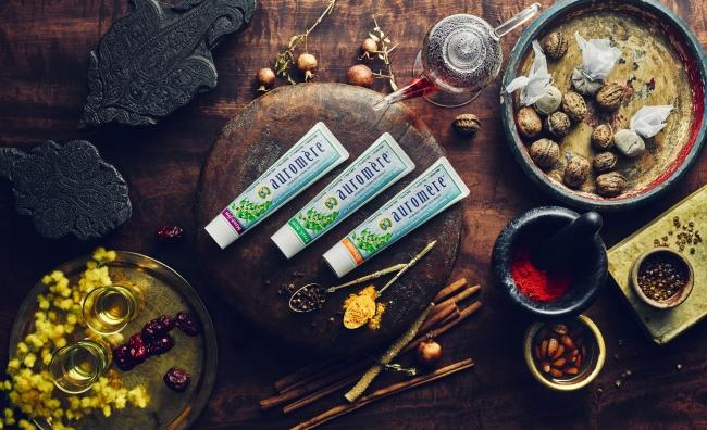 レビュー上々の「オーロメア」より日本オリジナル処方の歯磨き粉3種が新発売します!