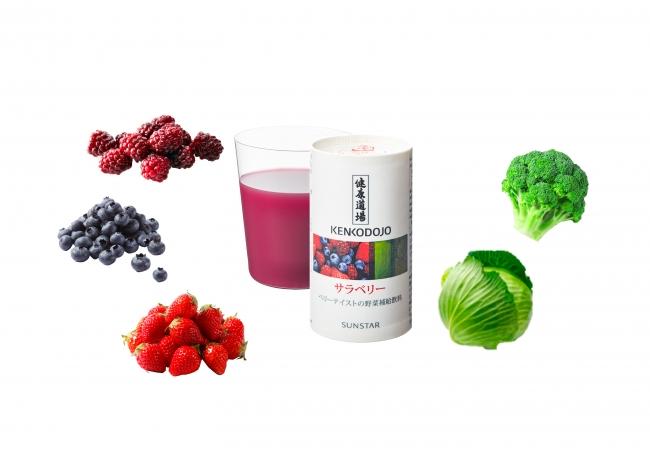 高い評判を誇る健康食品ブランドから「健康道場 サラベリー」新発売!美味しく体の内側からキレイを♪